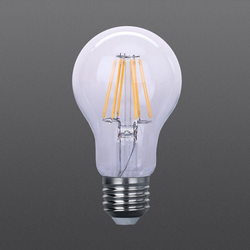 LED filament bulbs A60 6W