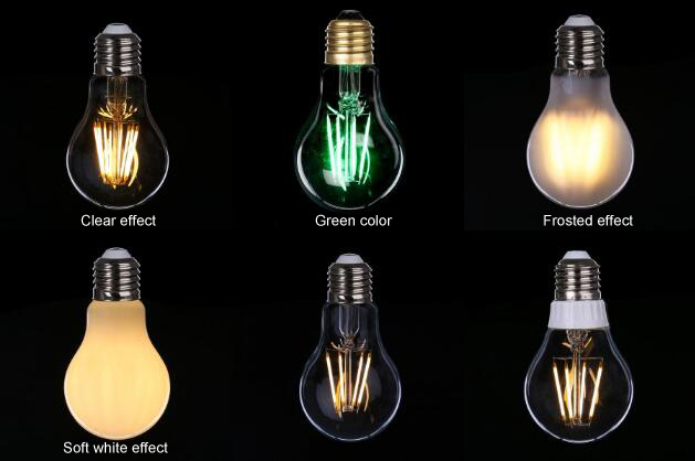 Wholesale Frosted Glass LED Filament Bulbs 4W 6W 8W Cheap