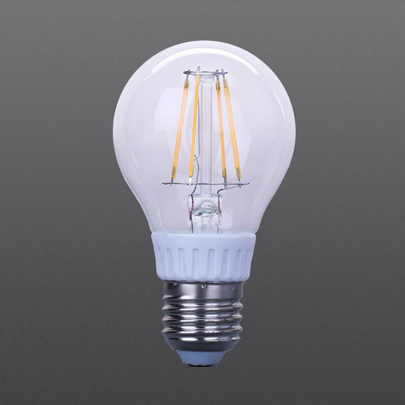LED filament dimmable bulb 4W