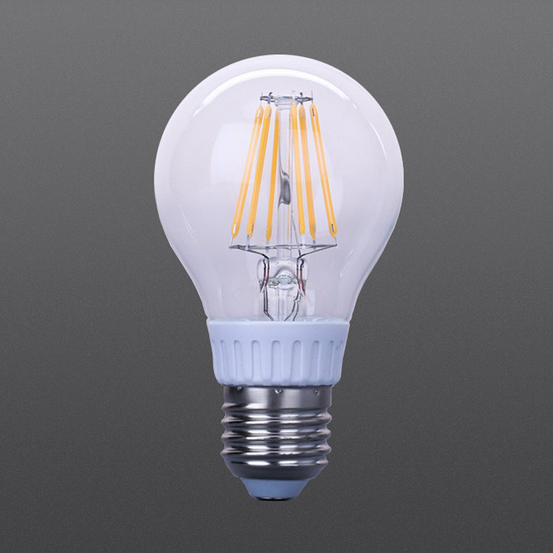 LED filament dimmable bulb 6W