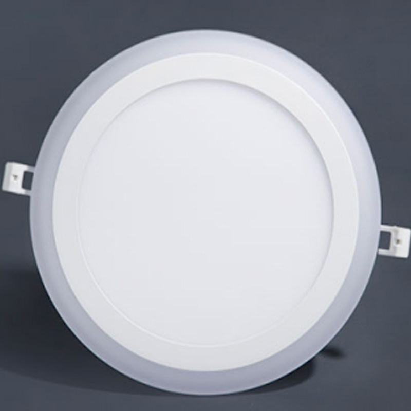 color changing round panel light