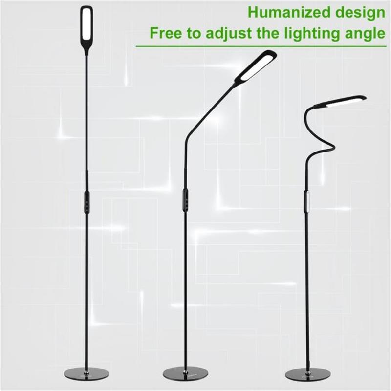 Rechargeable remote control LED floor lamp