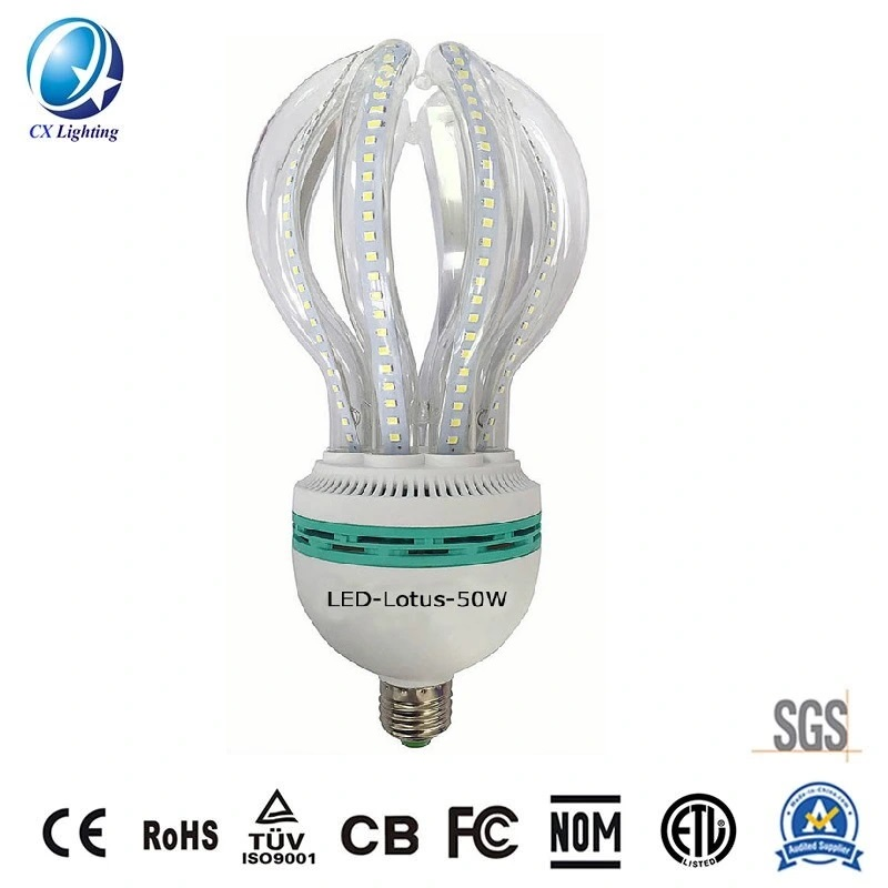 Lotus 5u Energy Saving LED Lamp 50W 4500lm Lotus LED Bulb High Power for Outside or Plant Building Ce