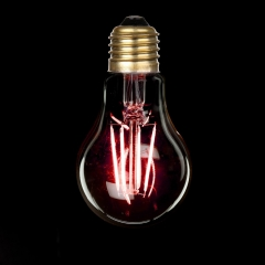 LED filament colorful bulbs
