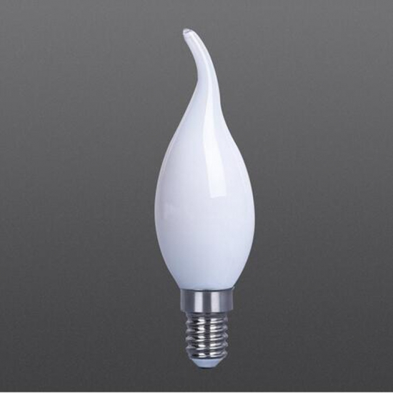 Clear/White/Frosted LED filament bulbs C35T white color