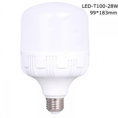 Cylindrical LED T bulbs T100 28W