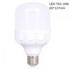 Cylindrical LED T bulbs T65 16W