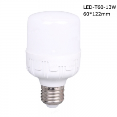 Cylindrical LED T bulbs T60 13W