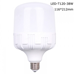 Cylindrical LED T bulbs T120 38W