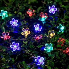 Festival solar flower light