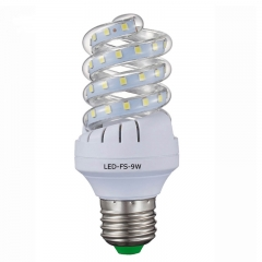 LED Corn lamp spiral 9W