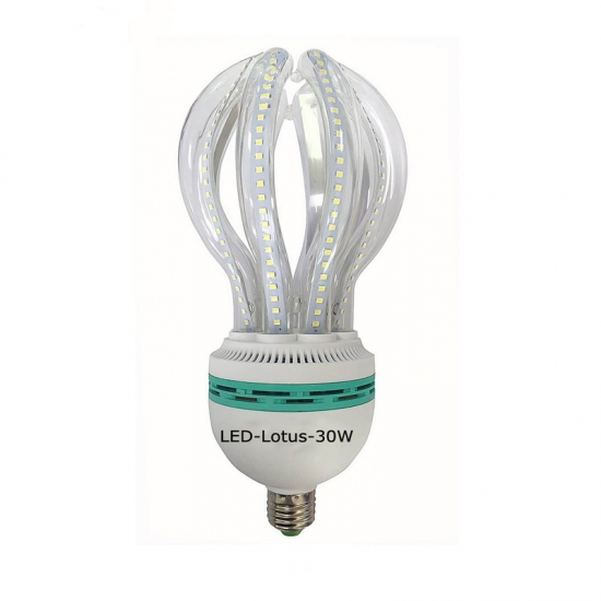 Factory price LED corn bulbs lotus shape 30W