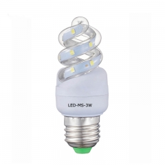 LED Corn lamp mini spiral 3W