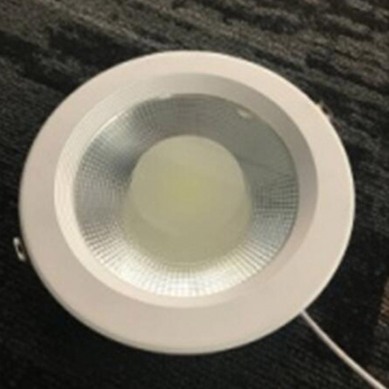 Aluminum glass LED downlight 8W 20W 30W