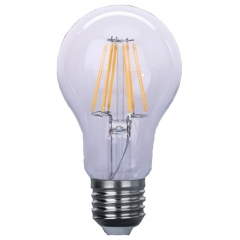 LED filament bulb A60 clear