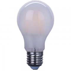 Frosted LED filament bulbs