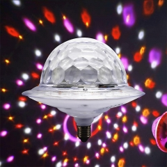 Colorful crystal digital stage lamp