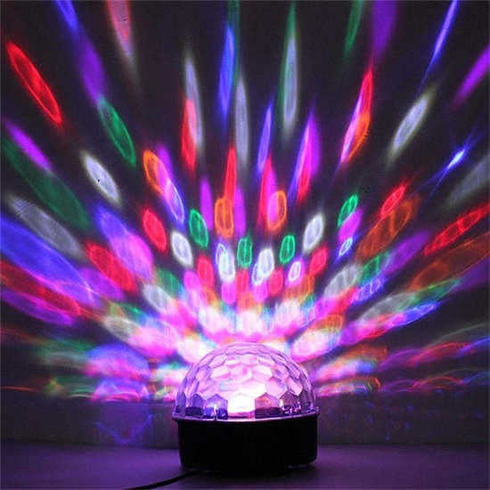 Bluetooth magic ball LED stage lamp 10w