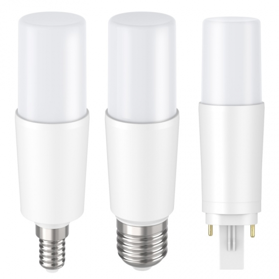 PC with aluminum indoor mini 12W LED T-bulb