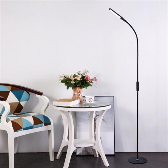 Intelligent remote control adjustable lighting angle eye protection LED floor lamp