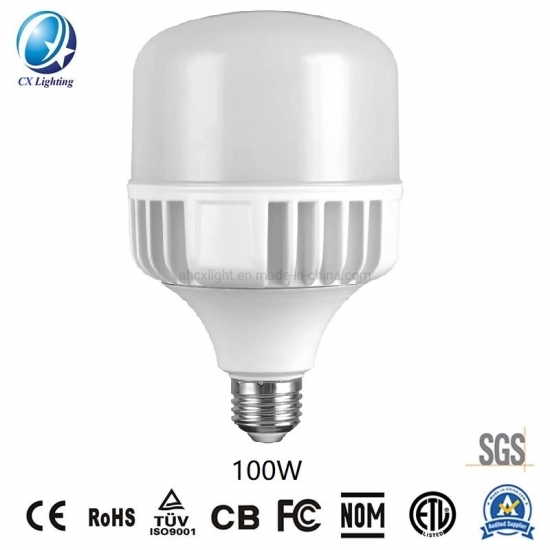 LED Light High Power T Bulb Die-Casting Aluminum 100W