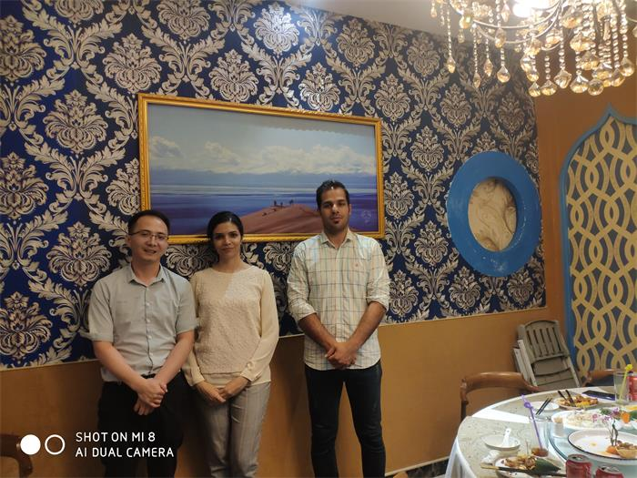 Warmly Welcome Iran Customer Visit CX Lighting