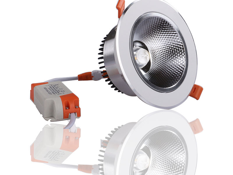 LED downlights are practical and economical
